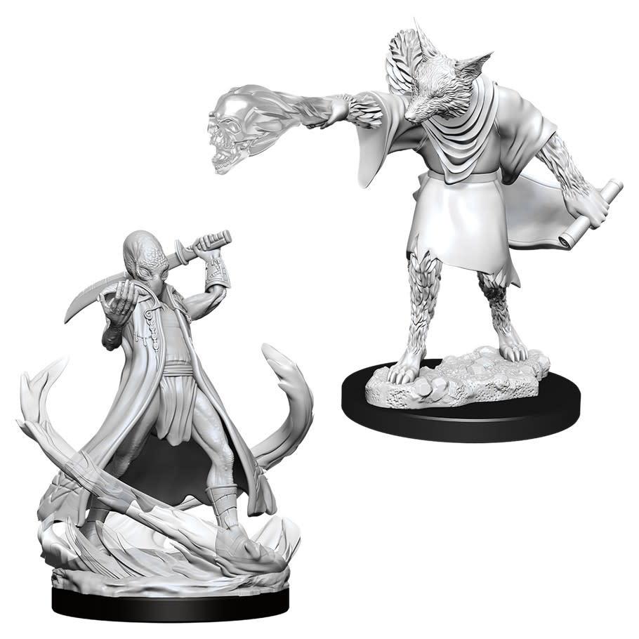 D&D miniatuur Nolzur´s Arcanaloth & Ultroloth