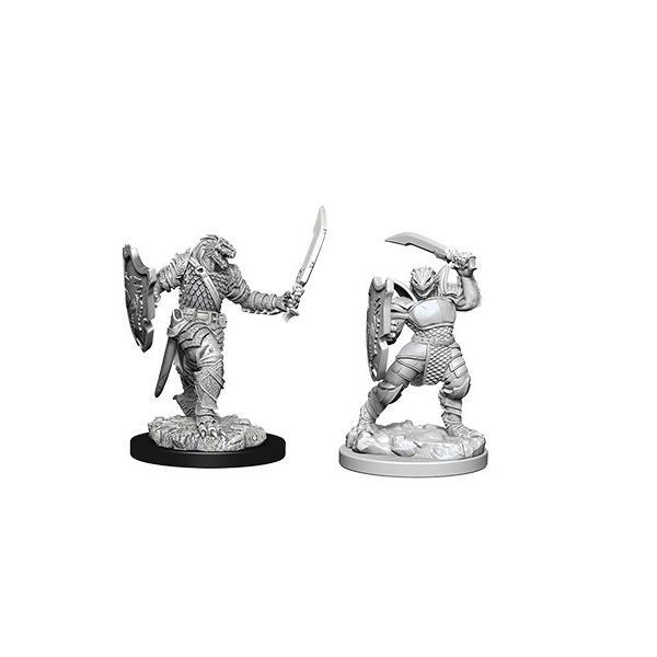 D&D miniatuur Nolzur´s Dragonborn Female Paladin