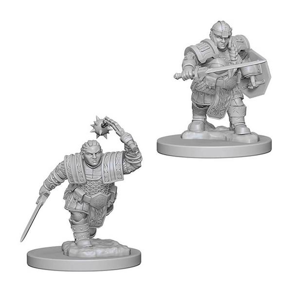 D&D miniatuur Nolzur´s Dwarf Female Fighter