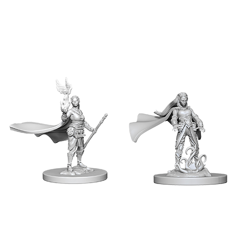 D&D miniatuur Nolzur´s Elf Female Druid