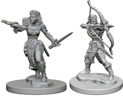 D&D miniatuur Nolzur´s Elf Female Ranger