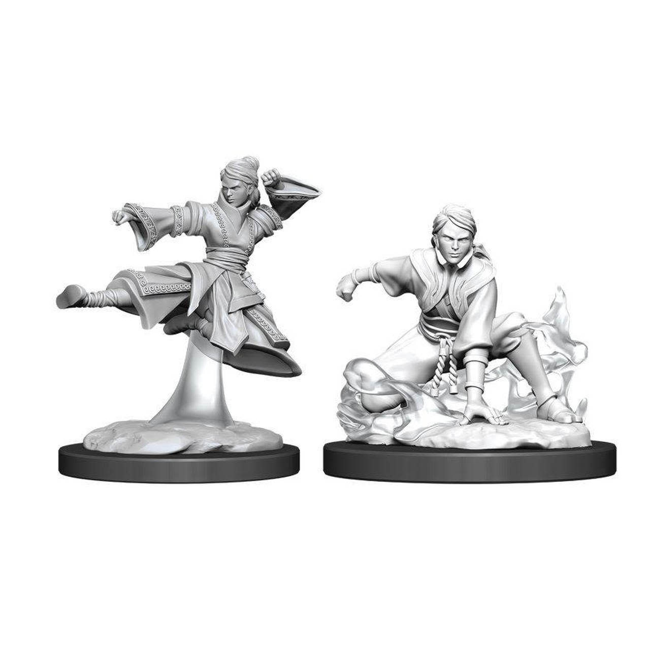 D&D miniatuur Nolzur´s Female Human Monk