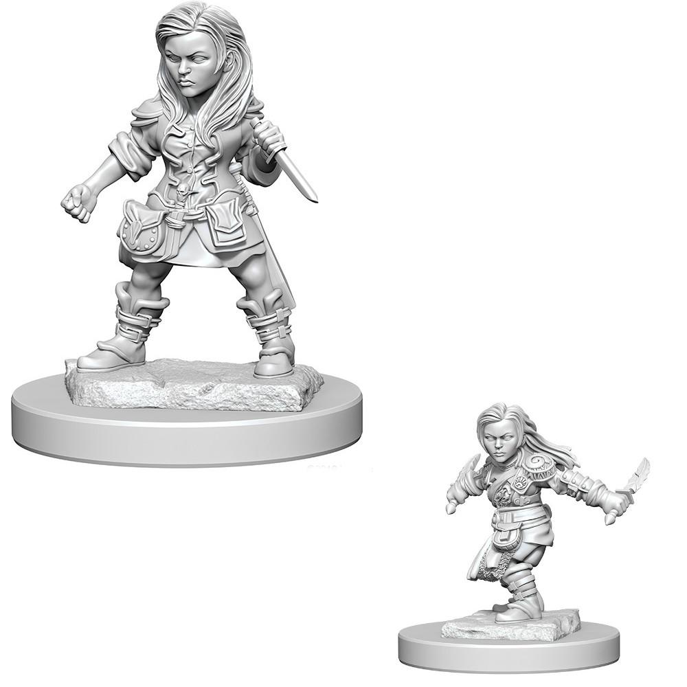 D&D miniatuur Nolzur´s Halfling Female Rogue