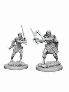 D&D miniatuur Nolzur´s Human Female Barbarian