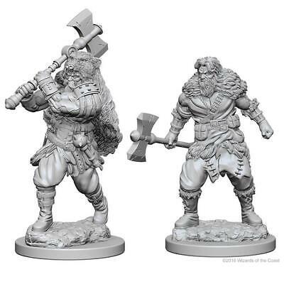 D&D miniatuur Nolzur´s Human Male Barbarian
