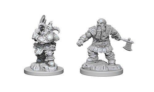 D&D miniatuur Nolzur´s Male Dwarf Barbarian