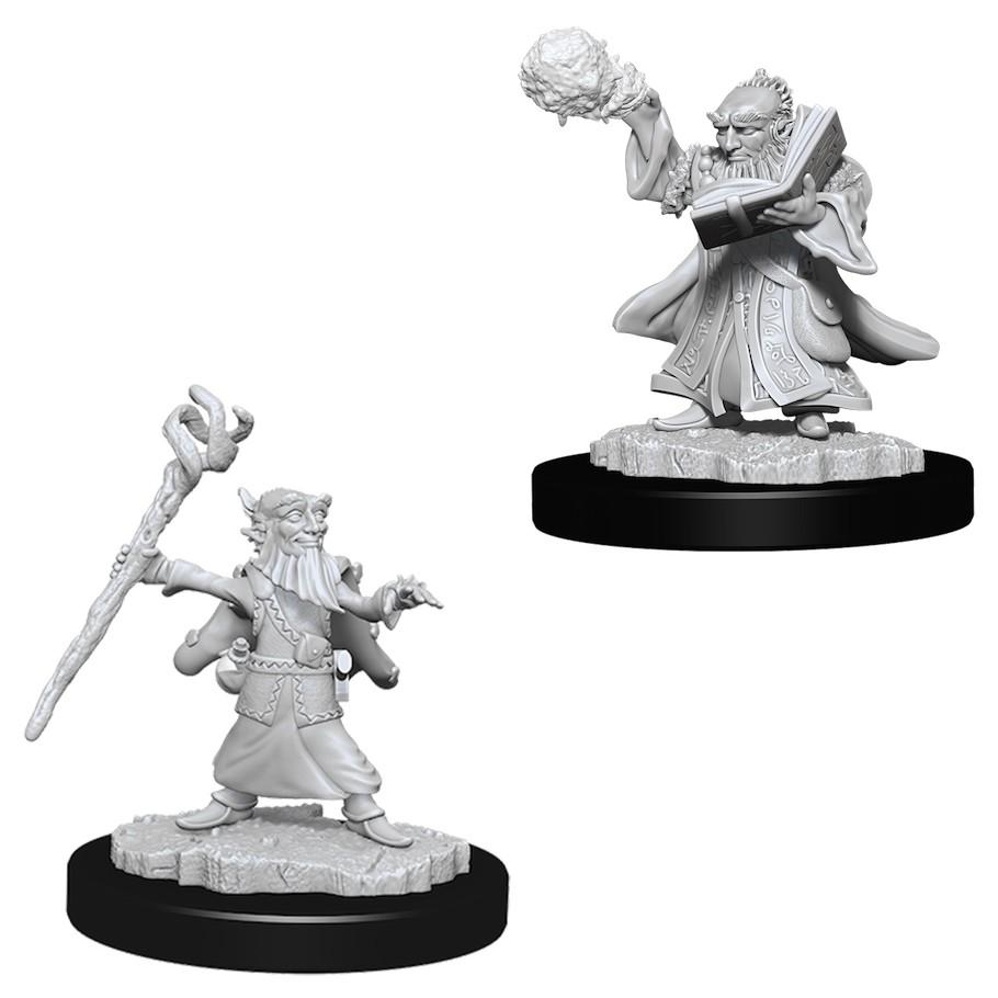 D&D miniatuur Nolzur´s Male Gnome Wizard
