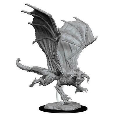 D&D miniatuur Nolzur's Young Black Dragon