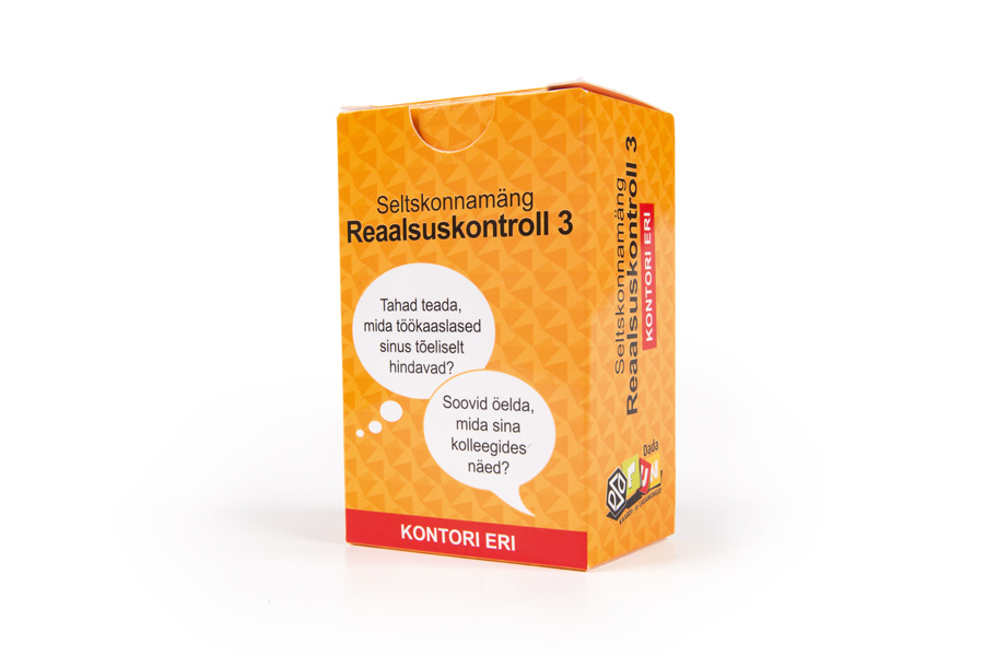 Reaalsuskontroll 3 - Kontori eri