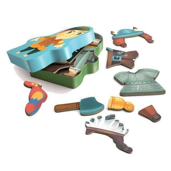 Wooden magnetics - Aventuro
