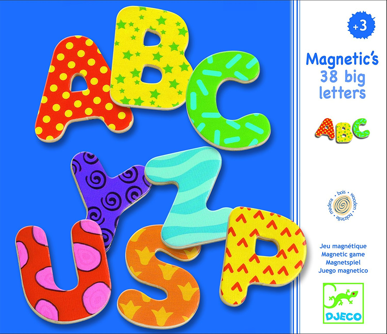 Puidust magnetid – 38 tähte