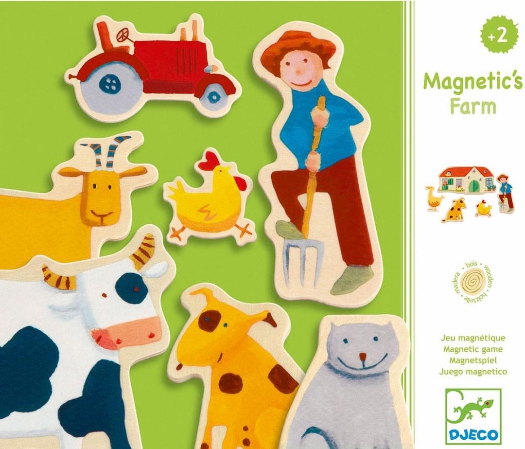 Puidust magnetid - Farm