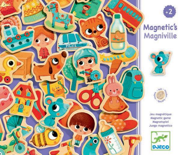 Puidust magnetid – Magniville