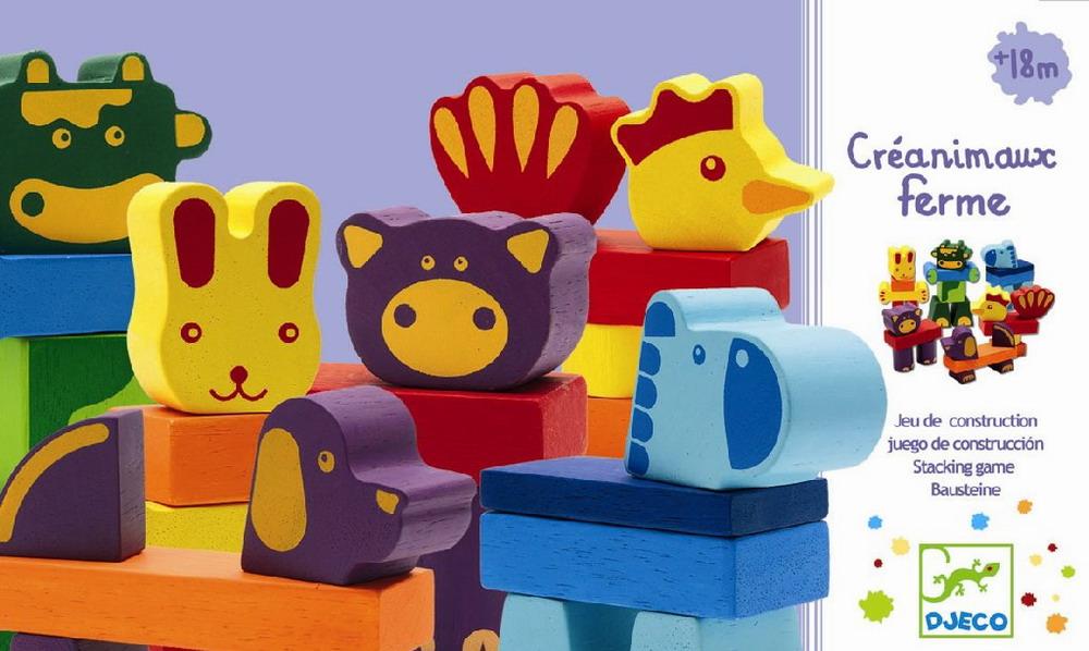 Toddlers - Créanimaux farm - 29 pcs