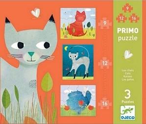 Puzzle - Cats - 9, 12, 16pcs