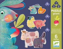 Progressives puzzles - Dandelion & friends