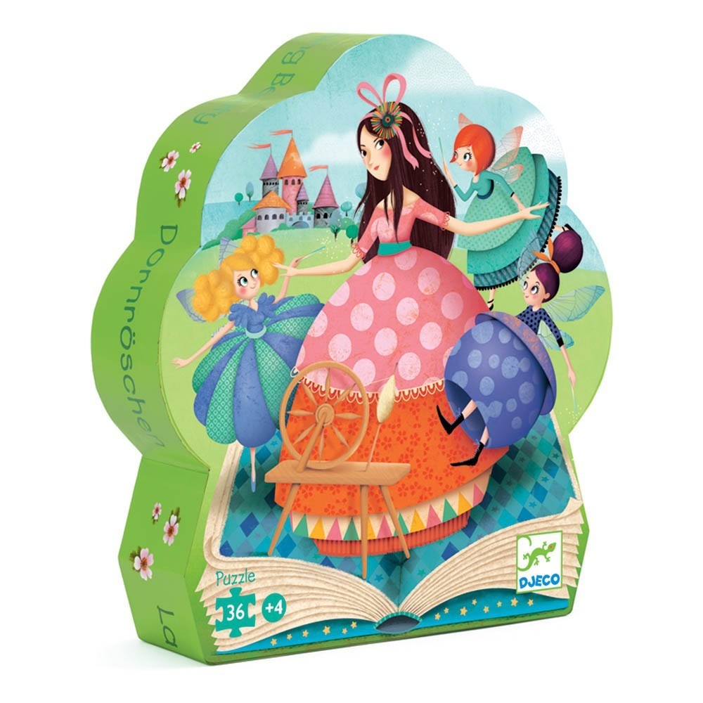 Silhouette puzzles - Sleeping beauty - 24pcs