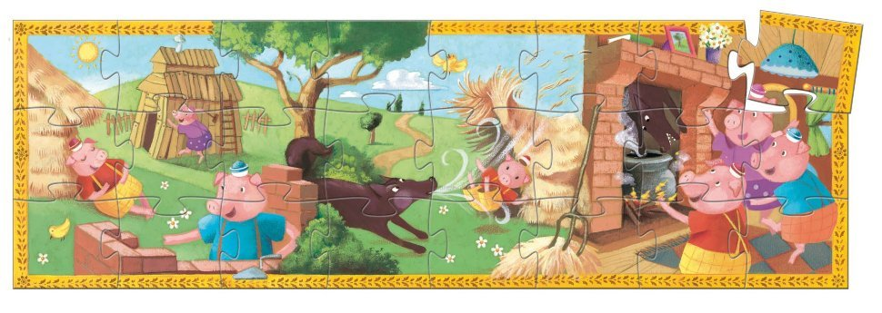 Puzzle - The 3 Little Pigs