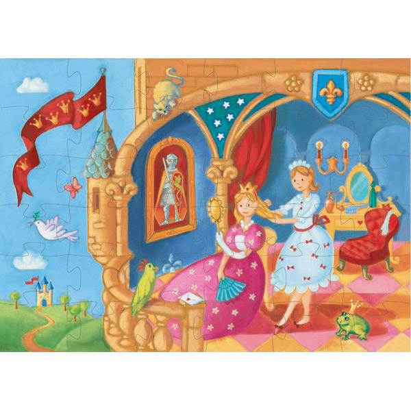 Puzzle: The princess and her frog