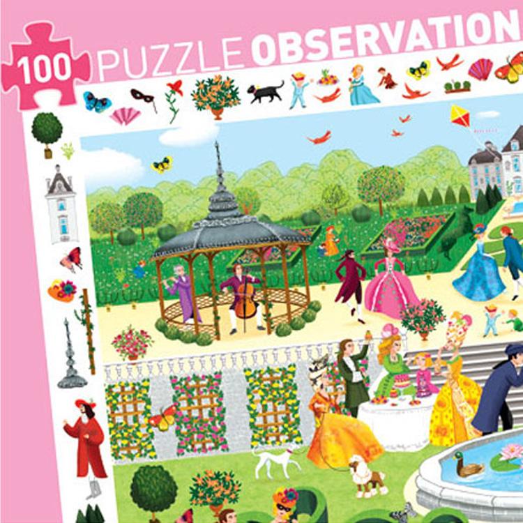 Puzzle - Garden party - 100 pcs