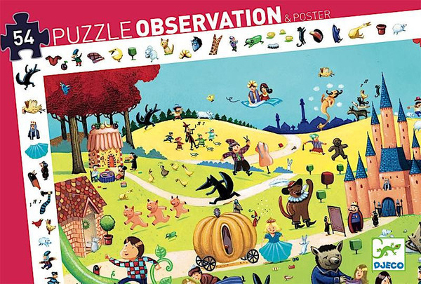 Puzzle - Tales - 54 pcs