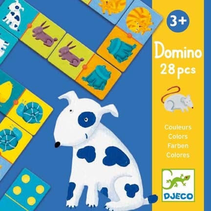 Doomino - Värvilised loomad (Domino - Colour Animals)