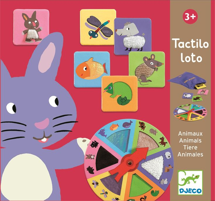 Loto - Loomad (Tactilo - Lotto Animals)
