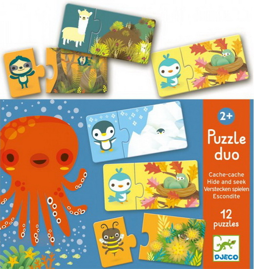 Puzzle duo - Hide & Seek
