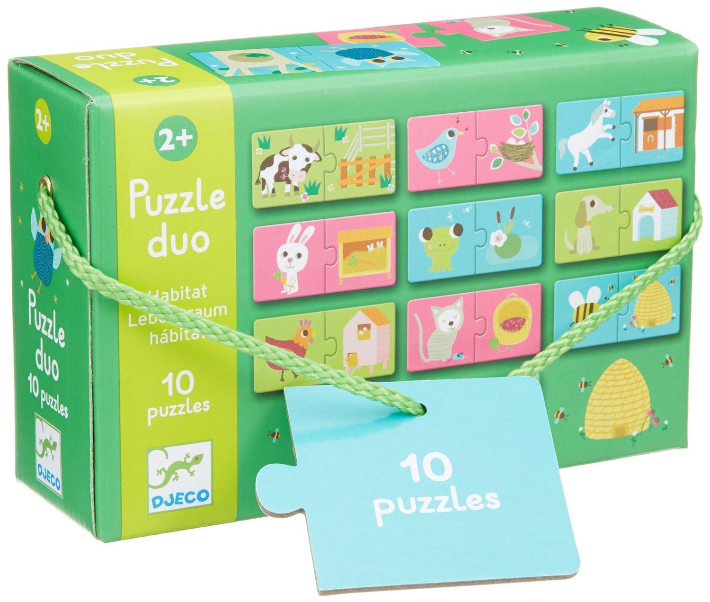 Duo-Trio Puzzles - Habitat