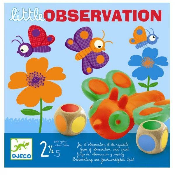 Toddler games - Little observation