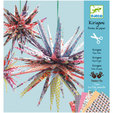 Kirigami Paper Balls