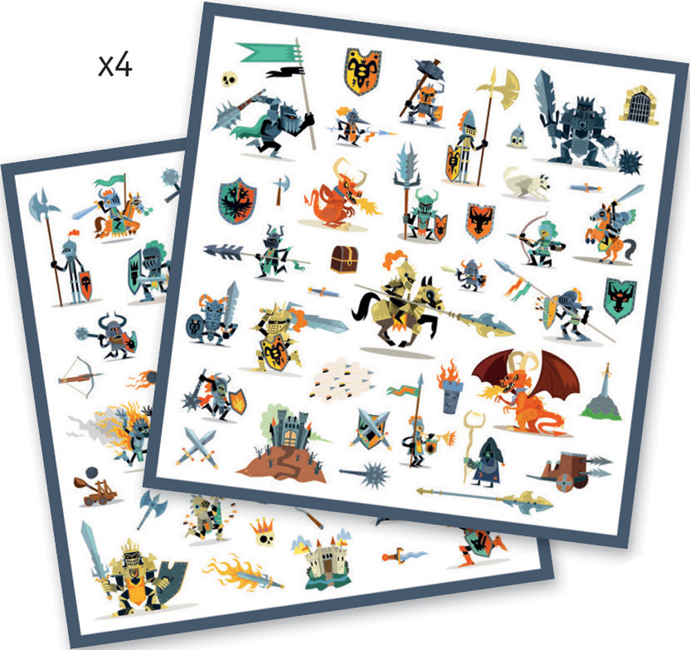 Small gift - Stickers - Knights