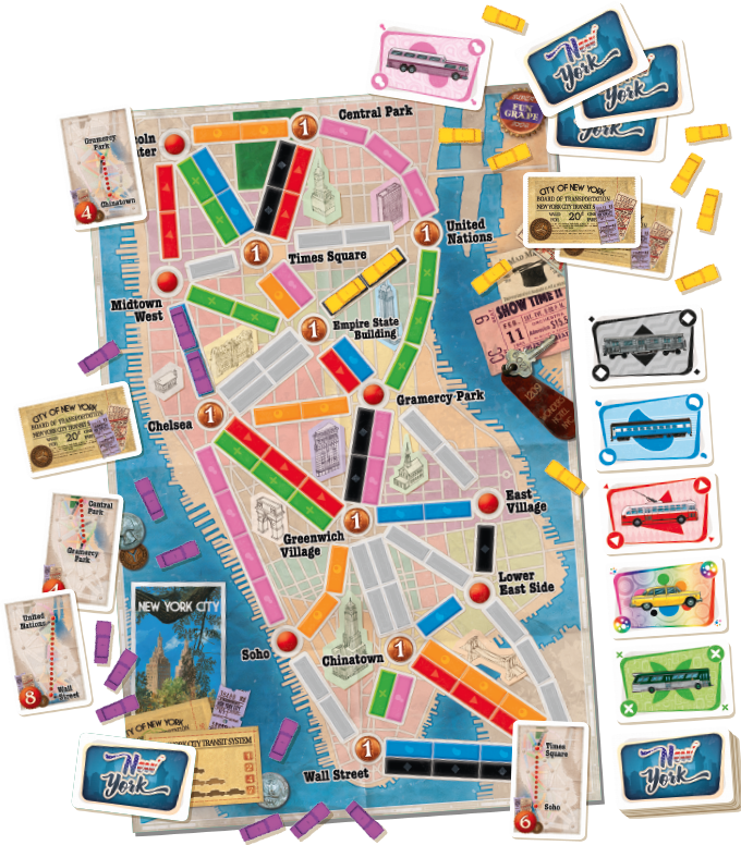 Ticket To Ride New York ENG
