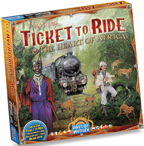 Ticket to Ride Map Collection 3 Africa
