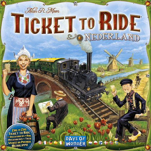 Ticket To Ride Map Collection 4 Netherlands