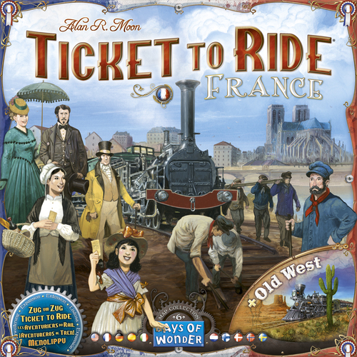 Ticket to Ride Map Coll. #6 France
