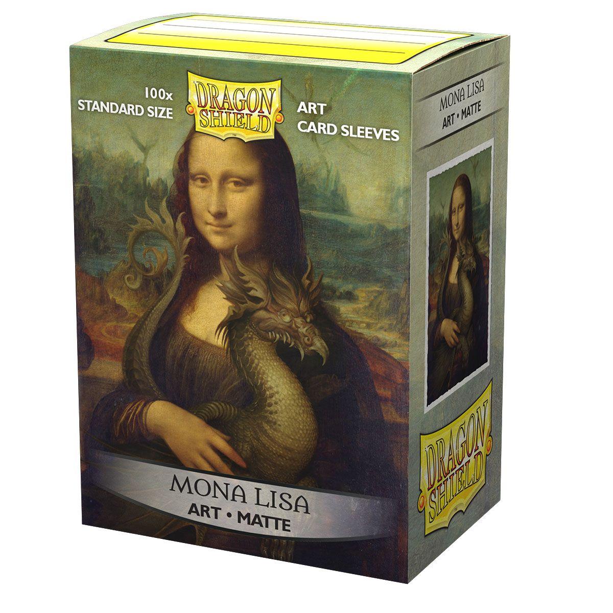 Dragon Shield Sleeves - Matte Art Mona Lisa
