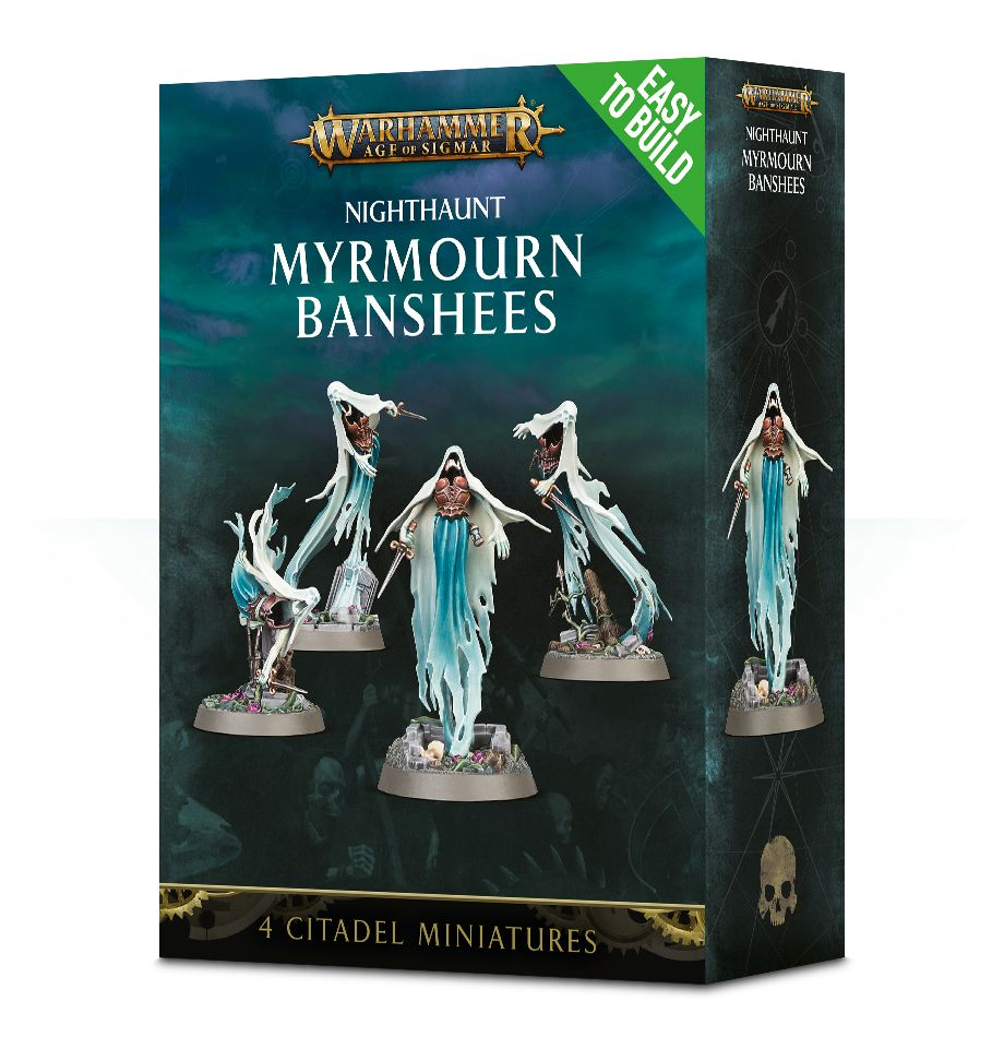 Eeasy to Build: NIGHTHAUNT MYRMOURN BANSHEES