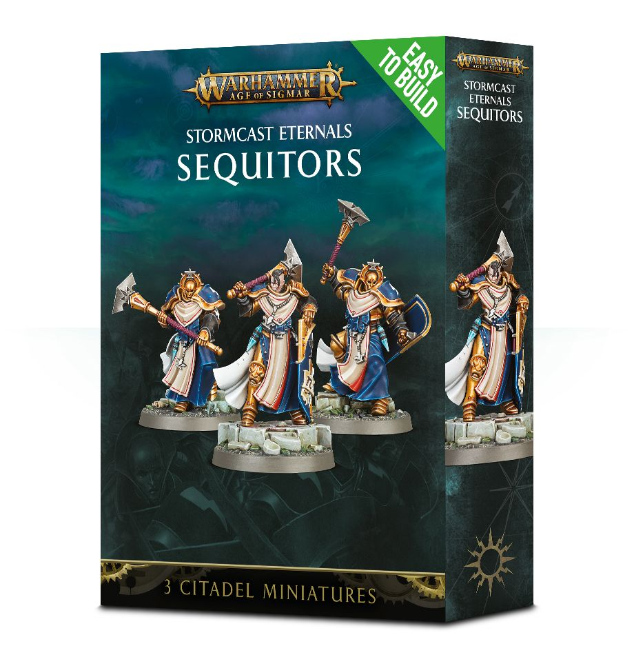 Eeasy to Build: STORMCAST ETERNALS SEQUITORS