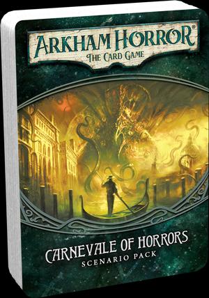Arkham Horror LCG Carnevale of Horrors