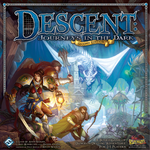 Descent 2nd Ed. Journey in the Dark