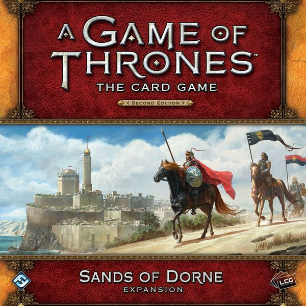 A Game Of Thrones LCG Sands of Dorne Deluxe Exp.