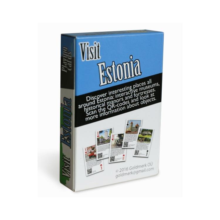"""Mängukaardid """"Visit Estonia"""""""