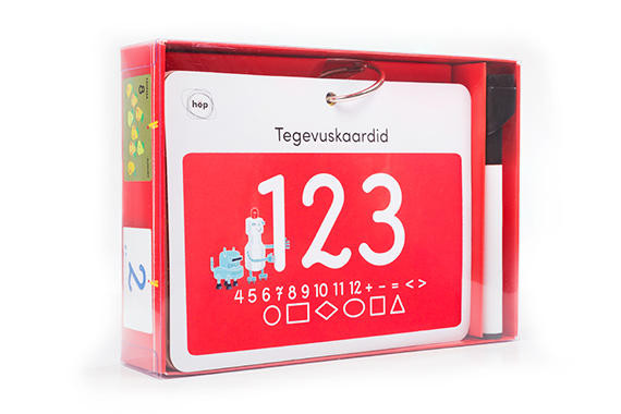 123 activity cards