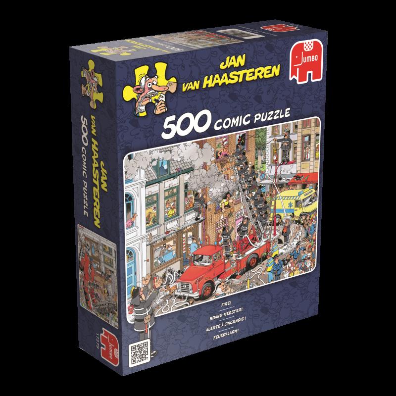 """Pusle """"Jan van Haasteren: Fire!"""", 500 tk"""