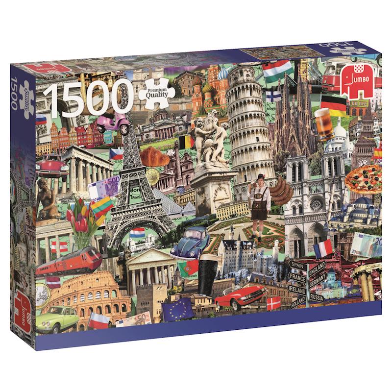 """Pusle """"Best of… European City"""", 1500 tk"""