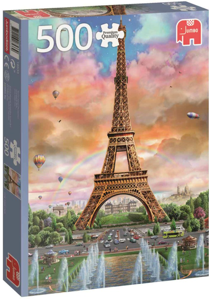 "Pusle ""Eiffel Tower Paris"", 500 tk"
