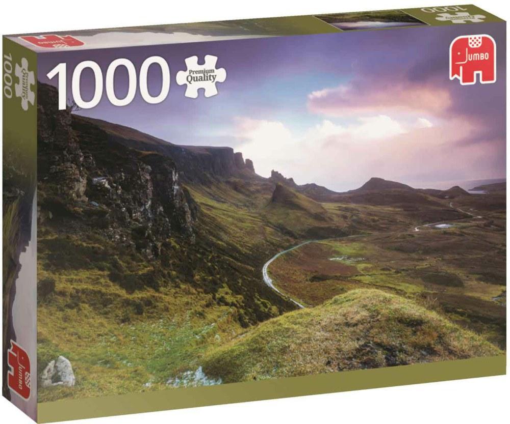 "Pusle ""Trotternish Ridge Scotland"", 1000 tk"