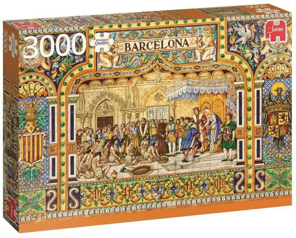 "Pusle ""Tiles of Barcelona"", 3000 tk"