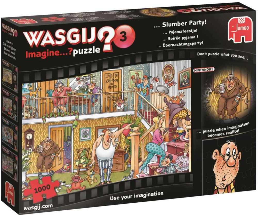 "Pusle ""Wasgij Imagine 3, Slumber Party!"", 1000 tk"